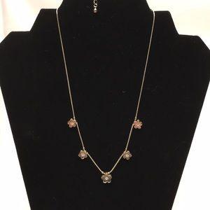 NWOT Lia Sophia necklace Blossom